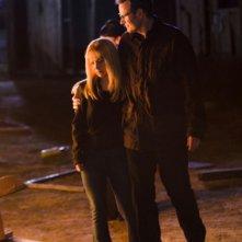 Hayden Panettiere e Jack Coleman in una scena di An Invisible Thread dalla terza stagione di Heroes