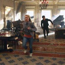 Hayden Panettiere e Milo Ventimiglia in una scena di An Invisible Thread dalla terza stagione di Heroes