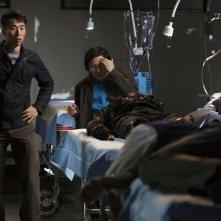 James Kyson Lee e Masi Oka in una scena di An Invisible Thread dalla terza stagione di Heroes