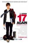 La locandina italiana di 17 Again - Ritorno al Liceo