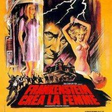Locandina francese de La maledizione di Frankenstein