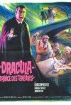 Uno splendido poster francese de Dracula principe delle tenebre