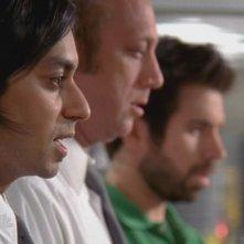 Vik Sahay, Scott Krinsky e Joshua Gomez nell'episodio 'Chuck versus the DeLorean' della serie tv Chuck