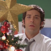 Zachary Levi nell'episodio 'Chuck Versus  Santa Claus' della serie tv Chuck