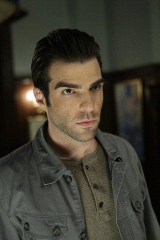 Zachary Quinto in una scena di I Am Sylar dalla terza stagione di Heroes