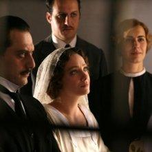 Filippo Timi e Giovanna Mezzogiorno in una scena di 'Vincere'