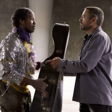 Jamie Foxx e Robert Downey Jr. in un'immagine del film The Soloist