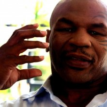 Mike Tyson in una scena del documentario Tyson