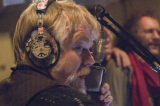 Philip Seymour Hoffman in un'immagine del film I Love Radio Rock