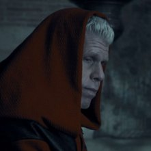 Ron Perlman in una scena del film The Mutant Chronicles