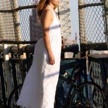Sarah Michelle Gellar sul set del film  Veronika Decides to Die, tratto da un romanzo di Paulo Coelho.