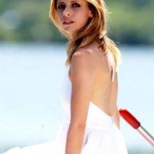 Sarah Michelle Gellar sul set di Veronika Decides to Die