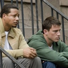 Terrence Howard e Channing Tatum in un'immagine del film Fighting