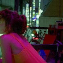 Paz de la Huerta in una scena del film drammatico Enter the Void