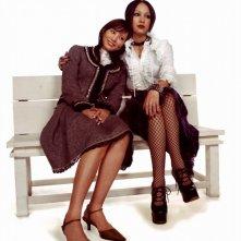 Nana 2: Yui Ichikawa e Mika Nakashima sedute su una panchina