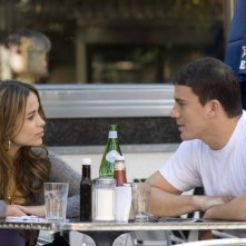 Zulay Henao e Channing Tatum in una scena del film Fighting