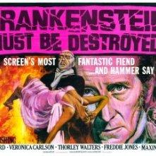 Lobbycard del film Distruggete Frankenstein