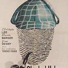 Locandina francese di Sherlock Holmes e la valle del terrore