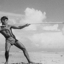 Una immagine del film Tabù di Murnau (1931)