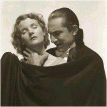 Bela Lugosi e Frances Dade in un'immagine promozionale di Dracula