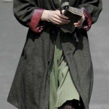 Keira Knightley sul set del sci-fi drama Never Let Me Go