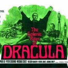 Lobbycard promozionale de I satanici riti di Dracula