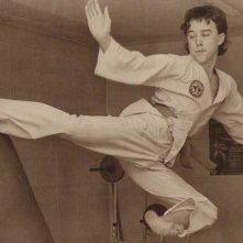 Don Ferguson che si allena nel Tae Kwon Do