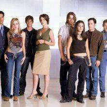 Foto del cast della 3 stagione di 'Roswell'