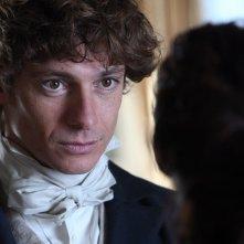Giorgio Pasotti in una scena del film TV David Copperfield