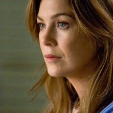 Ellen Pompeo in una scena dell'episodio Compassione per il diavolo di Grey's Anatomy