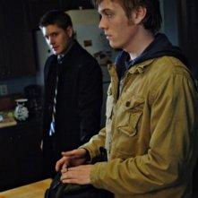 Jake Abel e Jensen Ackles nell'episodio Jump the Shark di Supernatural