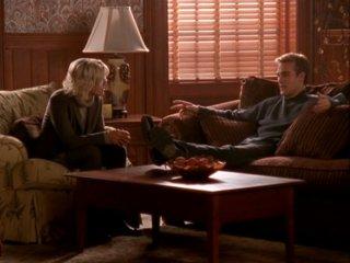 James Van Der Beek e Pauley Perrette in 'Travolgente Passione' della 5 stagione di Dawson's Creek