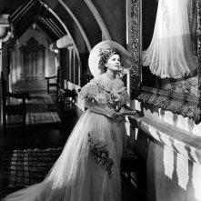 Joan Fontaine in una scena di Rebecca, la prima moglie