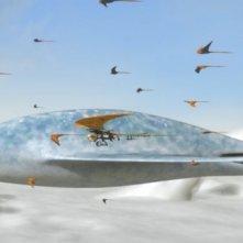 Un'immagine del film Battaglia per la Terra 3D