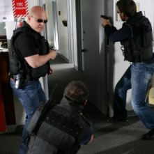 Una immagine del serial poliziesco The Shield.