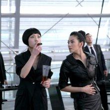 Due protagonisti del film All About Women, diretto da Tsui Hark