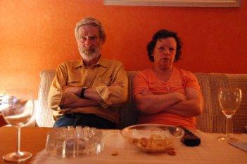 Horst Rehberg e Ursula Werner in una sequenza di Settimo cielo