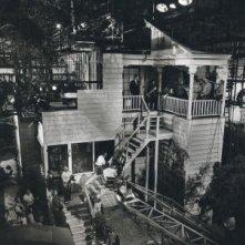 Il set de L\'ombra del dubbio di Alfred Hitchcock