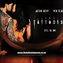 Mia Blake e Jason Behr in un wallpaper di 'The Tattooist'