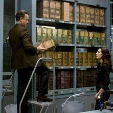 Tom Hanks e Ayelet Zurer in Angeli e Demoni