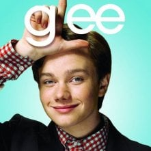 Character poster di Glee sul personaggio interpretato da Chris Colfer