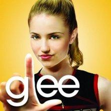 Character poster di Glee sul personaggio interpretato da Dianna Agron