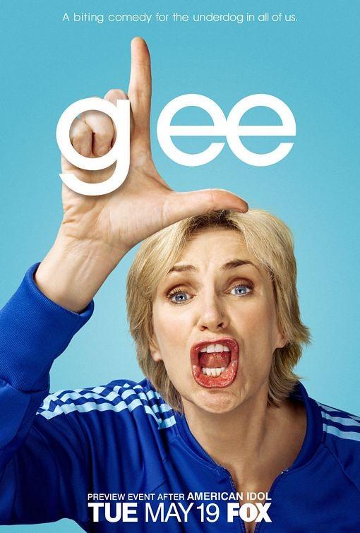 Character Poster Di Glee Sul Personaggio Interpretato Da Jane Lynch 114718