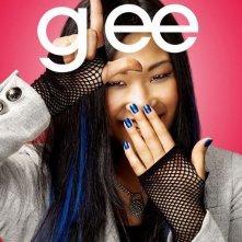 Character poster di Glee sul personaggio interpretato da Jenna Ushkowitz