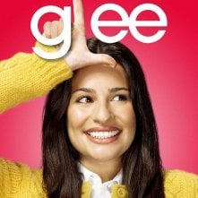 Character poster di Glee sul personaggio interpretato da Lea Michele
