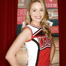Dianna Agron in una foto promozionale della serie Glee
