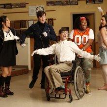I membri del club Glee nel pilot della serie omonima