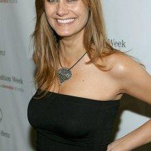 La sorridente attrice Diane Farr