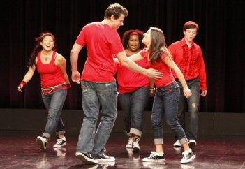 Un momento del pilot della serie TV Glee