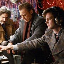 Michael Imperioli, Harvey Keitel e Jonathan Murphy nell'episodio 'Coffee, Tea or Annie' della serie tv Life on Mars